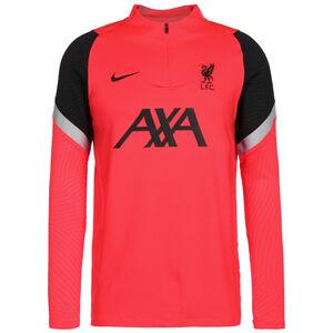 FC Liverpool Strike Drill Sweatshirt Herren, korall / schwarz, zoom bei OUTFITTER Online