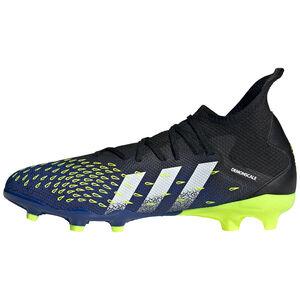 Predator Freak .3 FG Fußballschuh Herren, schwarz / blau, zoom bei OUTFITTER Online