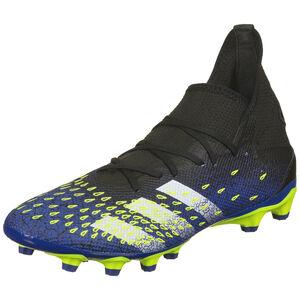 Predator Freak .3 MG Fußballschuh Herren, schwarz / blau, zoom bei OUTFITTER Online