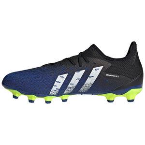 Predator Freak .3 L MG Fußballschuh Herren, schwarz / blau, zoom bei OUTFITTER Online