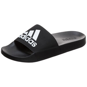 Adilette Shower Badesandale, schwarz / weiß, zoom bei OUTFITTER Online