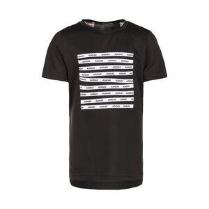 All Caps Trainingsshirt Kinder, schwarz / weiß, zoom bei OUTFITTER Online