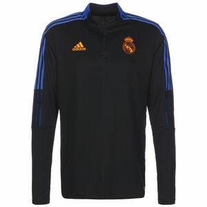 Real Madrid Trainingssweat Herren, schwarz / blau, zoom bei OUTFITTER Online