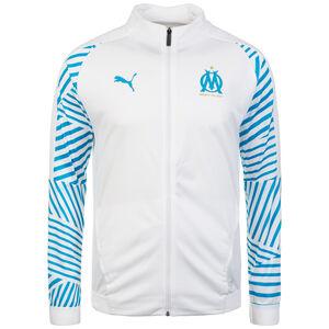 Olympique Marseille Stadium Jacke Herren, Weiß, zoom bei OUTFITTER Online