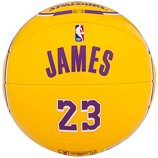 NBA Lebron James Mini-Basketball, , zoom bei OUTFITTER Online