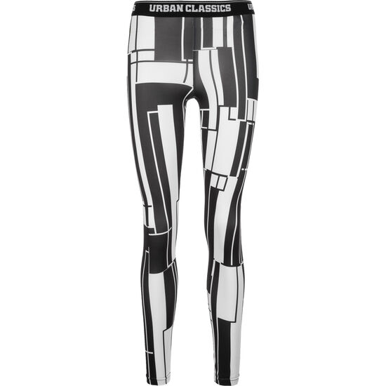 Graphic Sports Leggings Damen, Schwarz, zoom bei OUTFITTER Online
