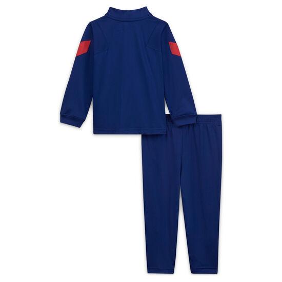 FC Barcelona Dry Strike Trainingsanzug Kleinkinder, blau / rot, zoom bei OUTFITTER Online