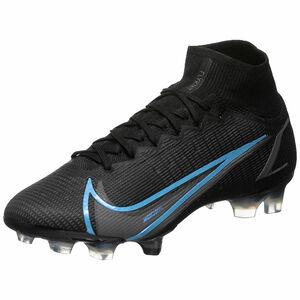 Mercurial Superfly 8 Elite DF FG Fußballschuh Herren, schwarz / blau, zoom bei OUTFITTER Online
