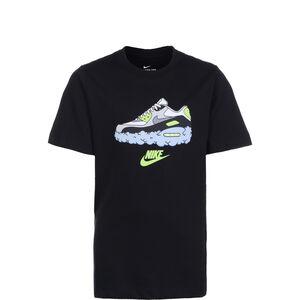 AM90s Clouds T-Shirt Kinder, schwarz, zoom bei OUTFITTER Online