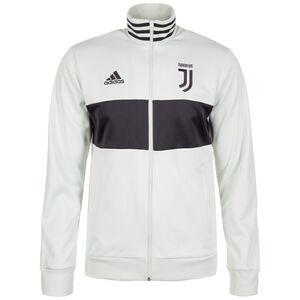 Juventus Turin 3-Streifen Track Trainingsjacke Herren, Grau, zoom bei OUTFITTER Online