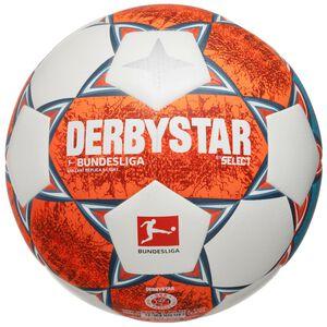 Bundesliga Brillant Replica S-Light v21 Fußball, weiß / orange, zoom bei OUTFITTER Online