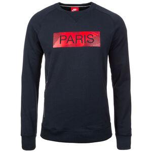 Paris St.-Germain Crew Authentic Sweatshirt Herren, Blau, zoom bei OUTFITTER Online