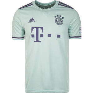 FC Bayern München Trikot Away 2018/2019 Herren, Grün, zoom bei OUTFITTER Online