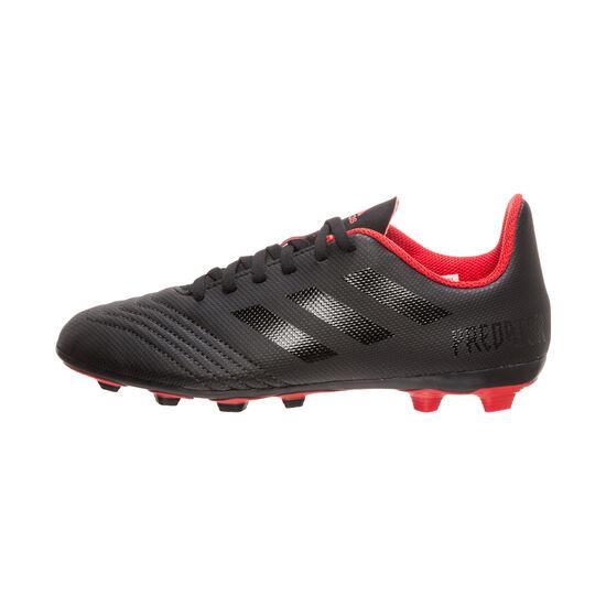 Predator 19.4 FxG Fußballschuh Kinder, schwarz / rot, zoom bei OUTFITTER Online