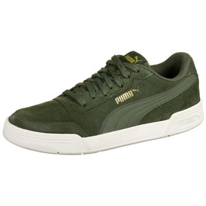 Caracal Suede Sneaker, dunkelgrün, zoom bei OUTFITTER Online