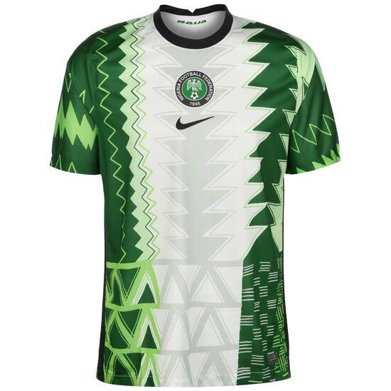 Nigeria Trikot Home Stadium Herren, weiß / grün, zoom bei OUTFITTER Online