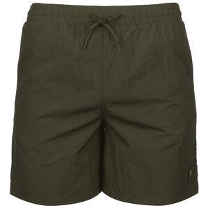 Plain Swim Shorts Herren, dunkelgrün, zoom bei OUTFITTER Online