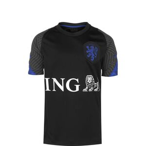 Niederlande Breathe Strike Trainingsshirt EM 2021 Kinder, schwarz / blau, zoom bei OUTFITTER Online