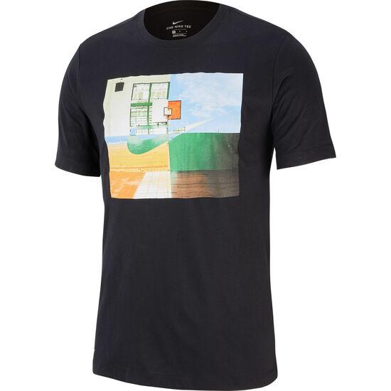 Dry Photo Basketballshirt Herren, schwarz, zoom bei OUTFITTER Online