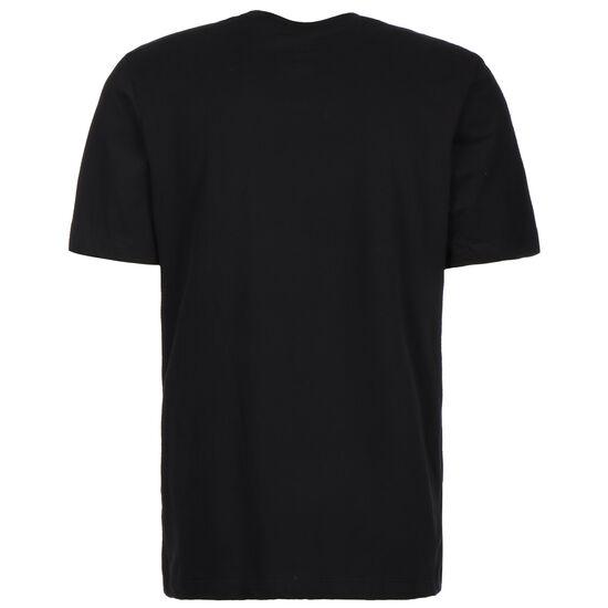 NBA Miami Heat Dry Logo T-Shirt Herren, schwarz / orange, zoom bei OUTFITTER Online