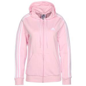Essential 3-Stripes Kapuzenjacke Damen, pink, zoom bei OUTFITTER Online