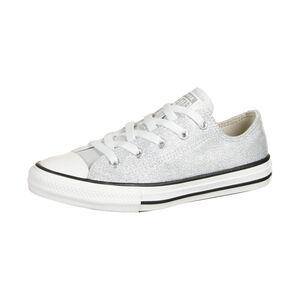Chuck Taylor All Star OX Sneaker Kinder, hellgrau / weiß, zoom bei OUTFITTER Online