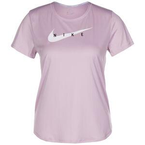 Swoosh Run Laufshirt Damen, rosa / weiß, zoom bei OUTFITTER Online