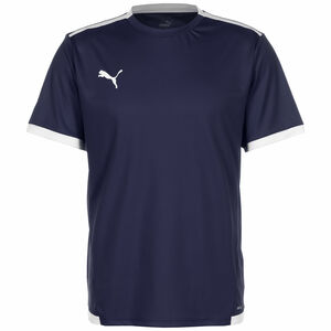 TeamLIGA Fußballtrikot Herren, dunkelblau / weiß, zoom bei OUTFITTER Online