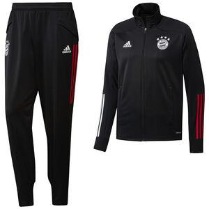 FC Bayern München Trainingsanzug Herren, schwarz / rot, zoom bei OUTFITTER Online