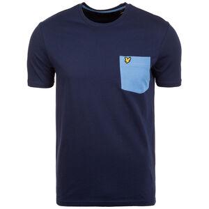 Contrast Pocket T-Shirt Herren, blau, zoom bei OUTFITTER Online