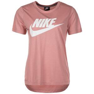 Essential T-Shirt Damen, rosa / weiß, zoom bei OUTFITTER Online