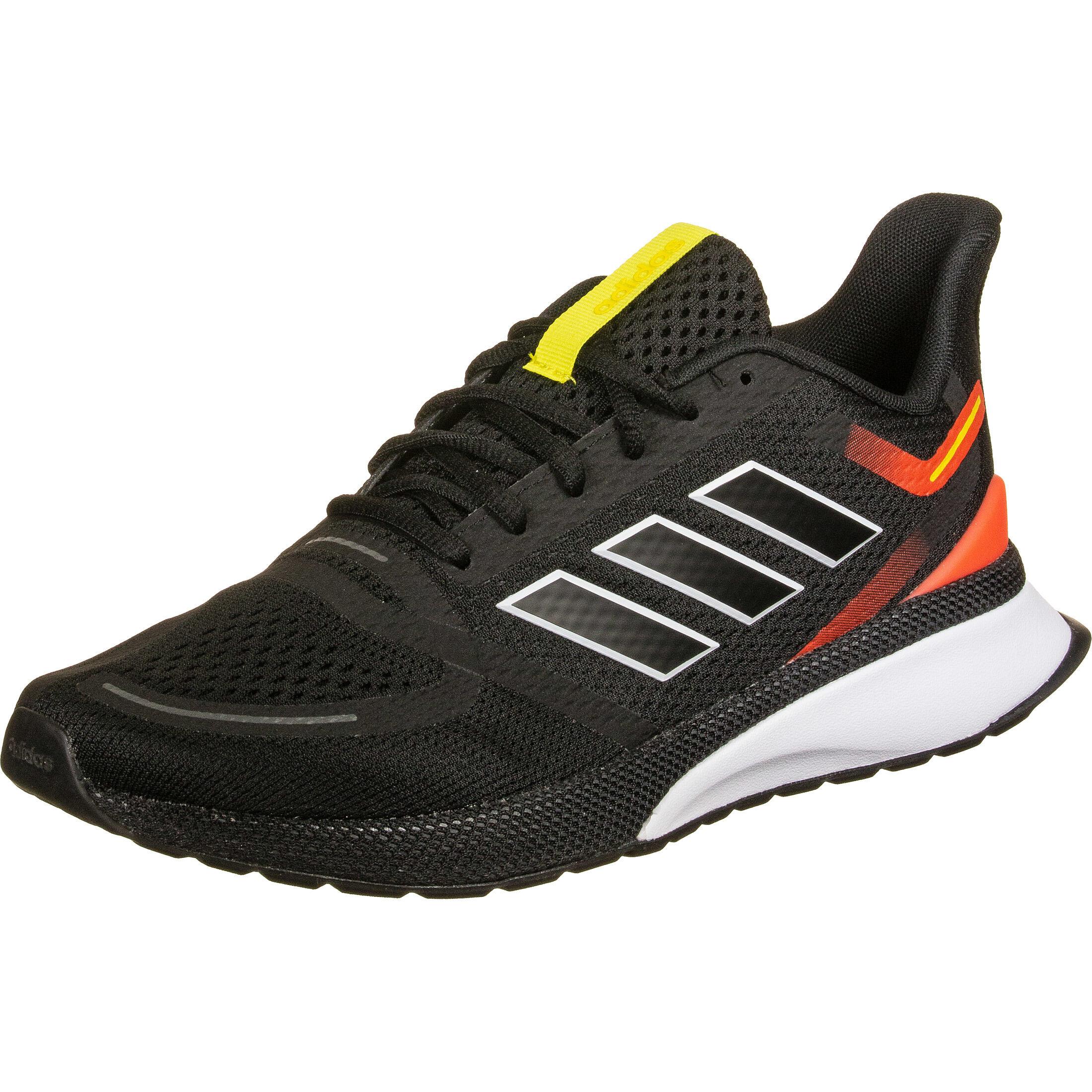 Adidas Novafvse Sneaker Herren schwarz rot im Online Shop