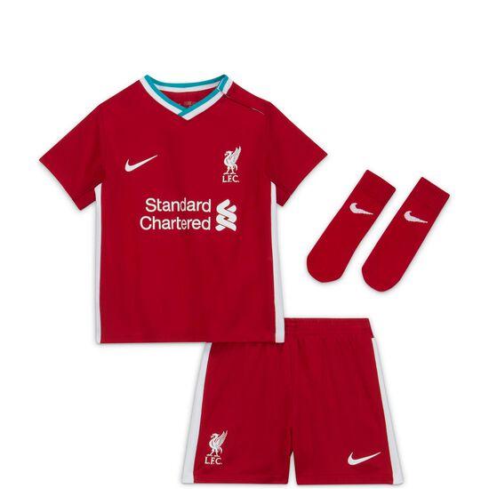 FC Liverpool Minikit Home 2020/2021 Kleinkinder, rot / weiß, zoom bei OUTFITTER Online