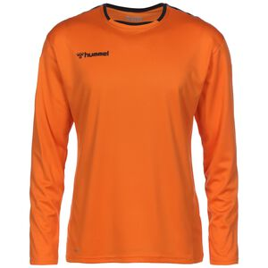 hmlAUTHENTIC Poly Fußballtrikot Herren, orange, zoom bei OUTFITTER Online