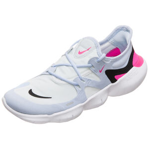Free RN 5.0 Laufschuh Damen, weiß / pink, zoom bei OUTFITTER Online