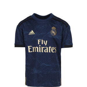 Real Madrid Trikot Away 2019/2020 Kinder, dunkelblau / gold, zoom bei OUTFITTER Online
