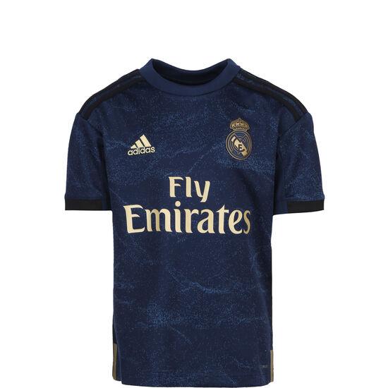 Real Madrid Trikot Away 2019/2020 Kinder, dunkelblau / gold, zoom bei OUTFITTER Online