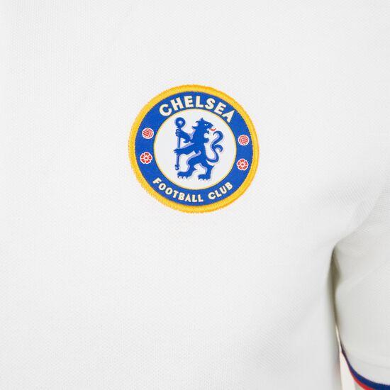 FC Chelsea Crest Poloshirt Herren, weiß / blau, zoom bei OUTFITTER Online