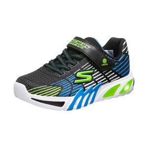 Flex-Glow Elite Sneaker Kinder, schwarz / blau, zoom bei OUTFITTER Online