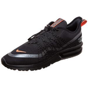 Air Max Sequent 4 Utility Sneaker Herren, schwarz / orange, zoom bei OUTFITTER Online