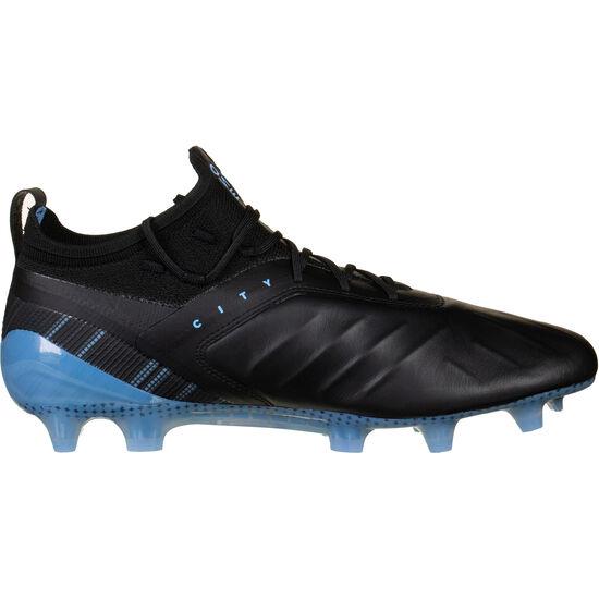 ONE 5.1 City MG Fußballschuh Herren, schwarz / hellblau, zoom bei OUTFITTER Online