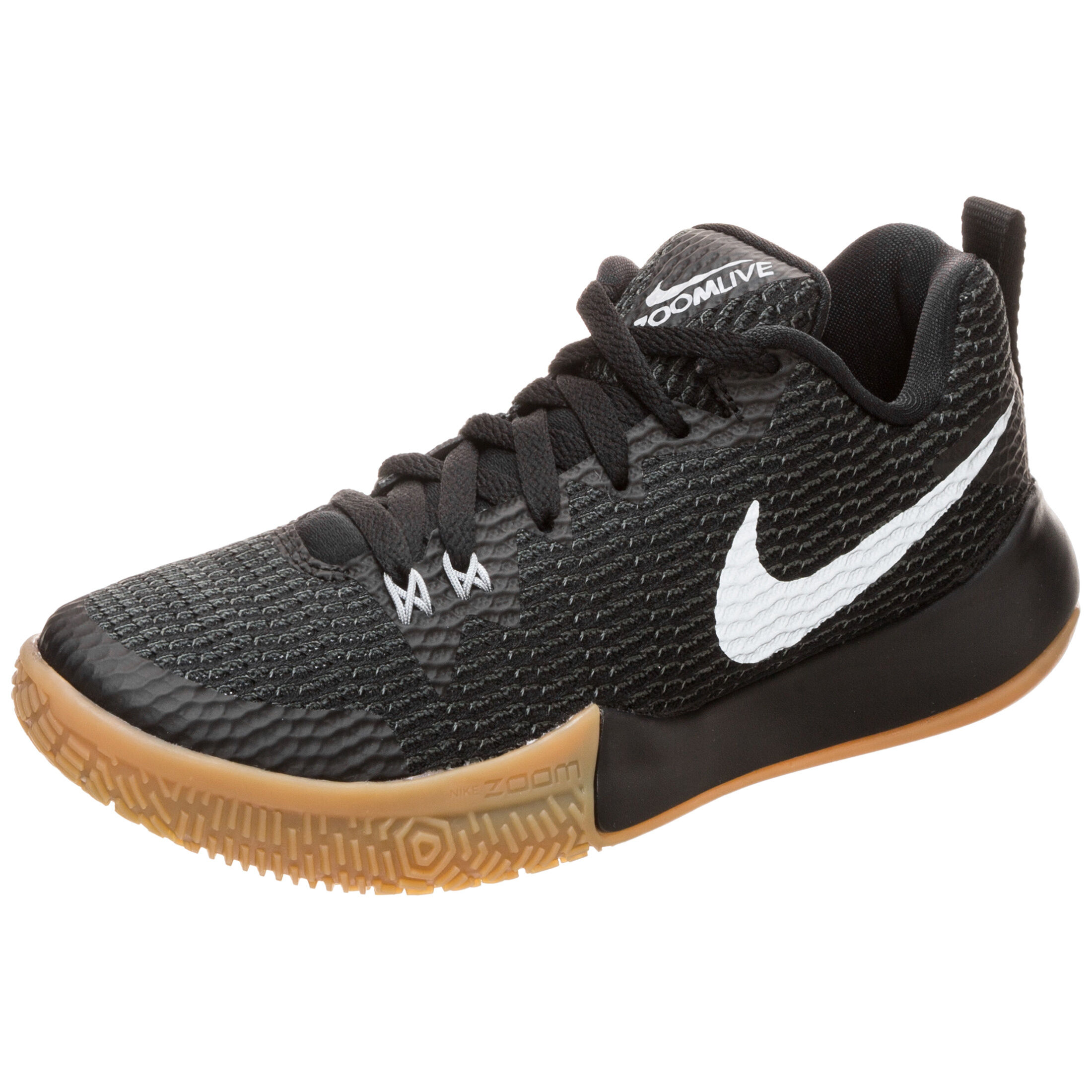 Nike Basketballschuhe | Nike Zoom Live II Damen Schwarz