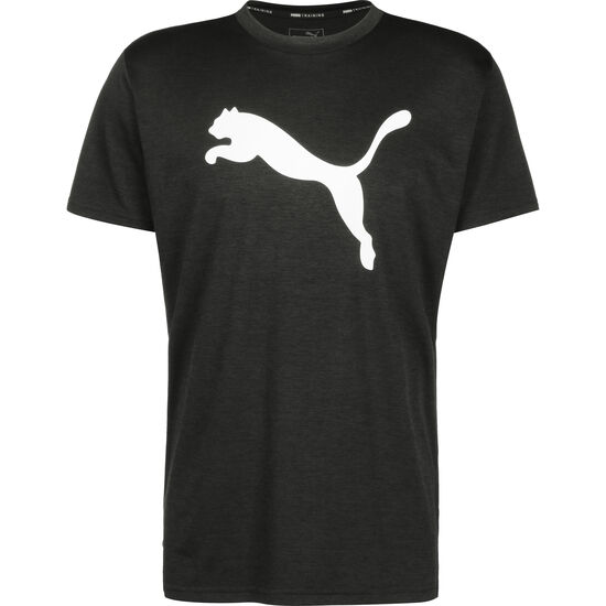 Heather Cat Trainingsshirt Herren, schwarz / weiß, zoom bei OUTFITTER Online