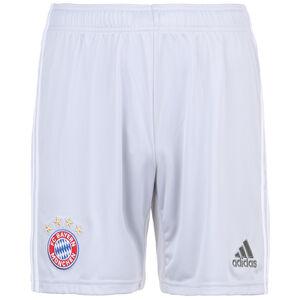 FC Bayern München Short Away 2019/2020 Herren, hellgrau / weiß, zoom bei OUTFITTER Online