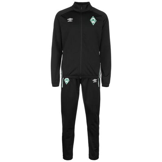 SV Werder Bremen Knit Trainingsanzug Herren, schwarz / grün, zoom bei OUTFITTER Online