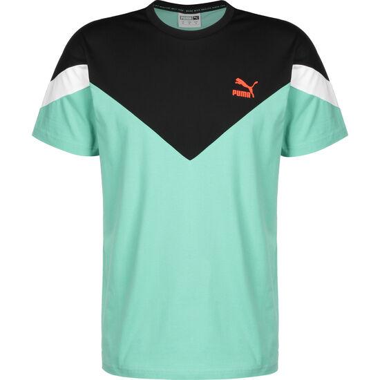 MCS Slim T-Shirt Herren, türkis / schwarz, zoom bei OUTFITTER Online