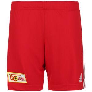 1. FC Union Berlin Shorts Home 2021/2022 Herren, rot / weiß, zoom bei OUTFITTER Online