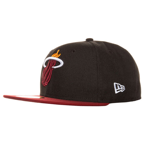 59FIFTY NBA Basic Miami Heat Cap, Schwarz, zoom bei OUTFITTER Online