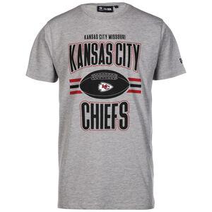 NFL Kansas City Chiefs T-Shirt Herren, grau / schwarz, zoom bei OUTFITTER Online