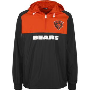 NFL Chicago Bears Colour Block Windbreaker Herren, dunkelblau / orange, zoom bei OUTFITTER Online